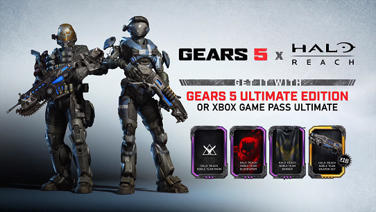 Annunciato il Reach Character Pack per Gears 5