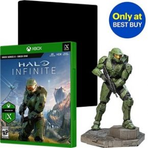Halo Infinite – Su Best Buy compaiono un bundle ed una statuetta esclusivi
